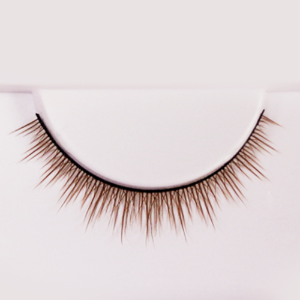 eyelash D Light Brown (8mm)