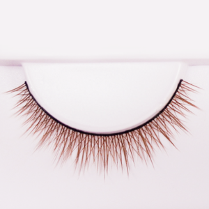eyelash D Light Brown (9mm)